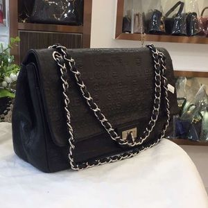 Authentic Chanel Coco 2.55 Leather Double Flap